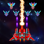 تحميل لعبة Galaxy Attack: Alien Shooter مهكرة آخر اصدار