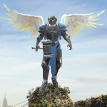 تحميل لعبة Crime Angel Superhero – Vegas Air Strike مهكرة آخر اصدار