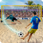 تحميل لعبة Shoot Goal – Beach Soccer Game مهكرة آخر اصدار