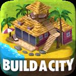 تحميل لعبة Town Building Games: Tropic City Construction Game مهكرة آخر اصدار